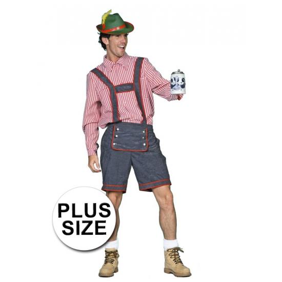 Oktoberfest - Tiroler lederhose grote maat