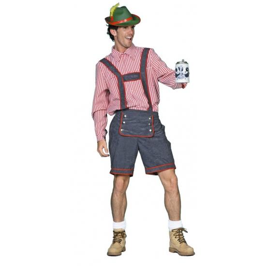 Oktoberfest - Tiroler lederhose voor heren