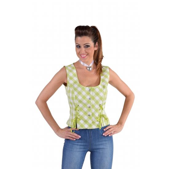 Oktoberfest - Tiroler Oktoberfest shirt mouwloos groen