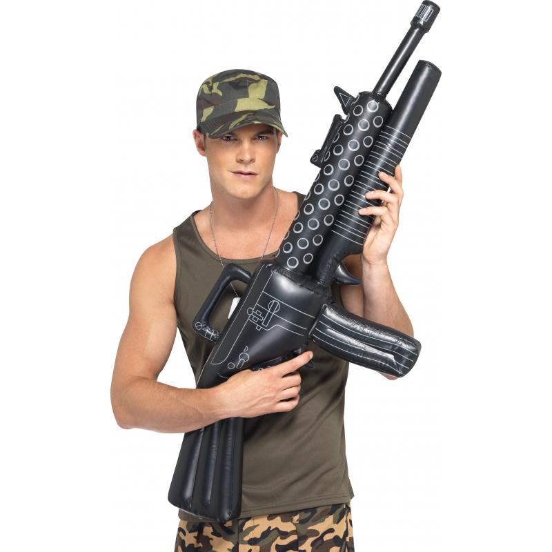 Opblaasbaar Scarface wapen