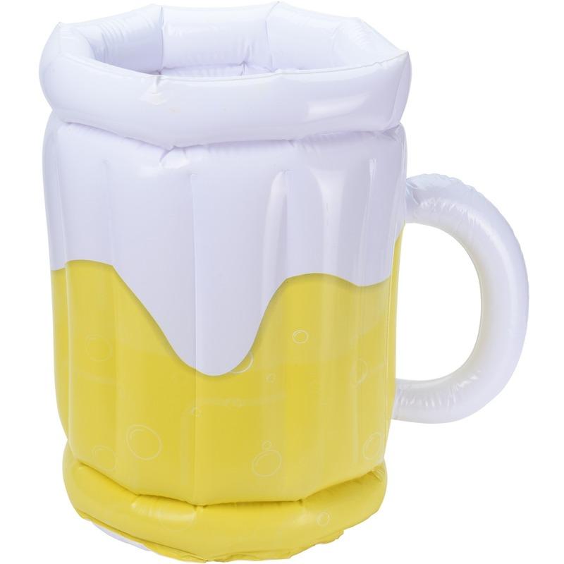 Opblaasbare drank koeler bierglas 42 cm
