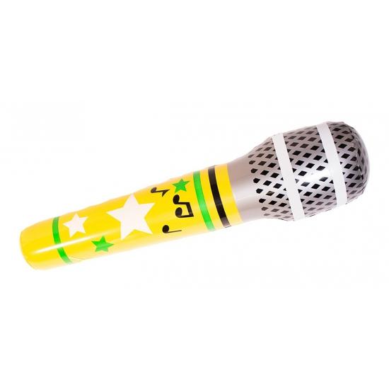 Opblaasbare mega microfoon