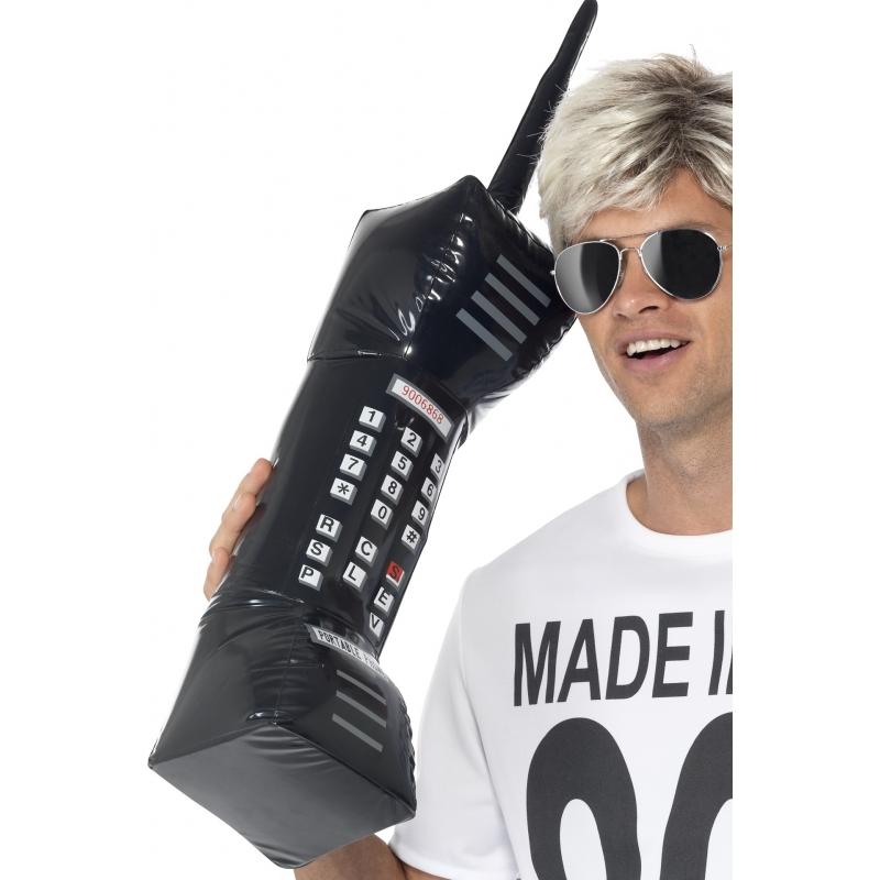 Opblaasbare retro telefoon 75 cm