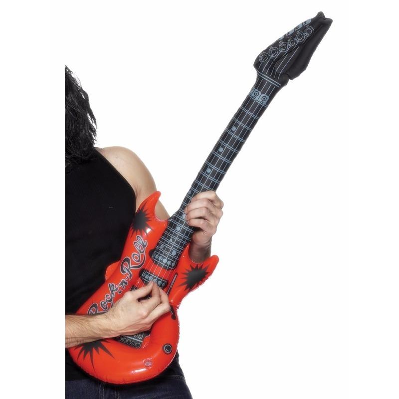 Opblaasbare rode elektrische gitaar 99 cm