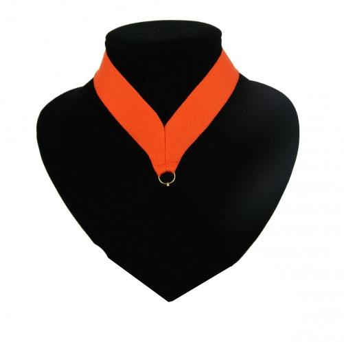 Oranje halslint