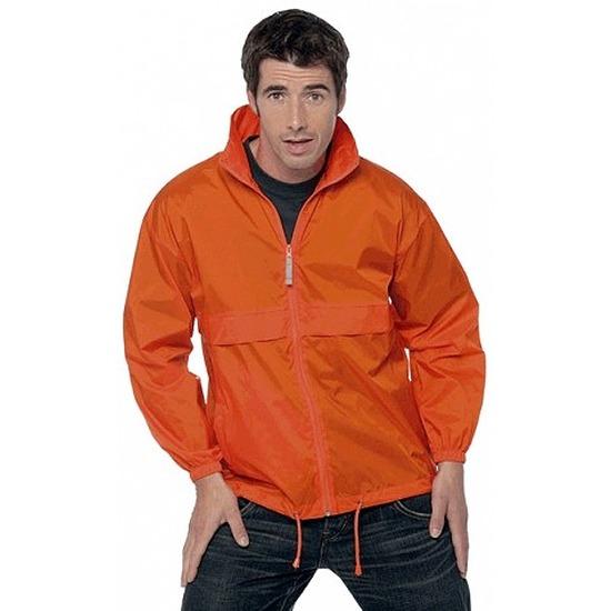 Oranje koningsdag jas voor heren
