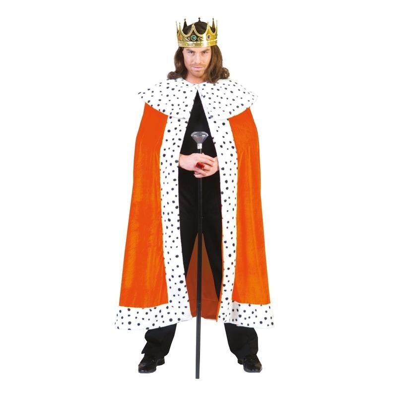 Oranje Koningsmantel volwassenen