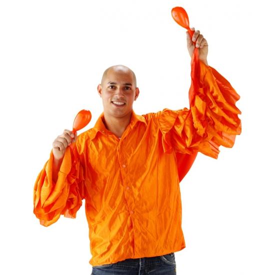 Oranje Limbo shirt voor heren