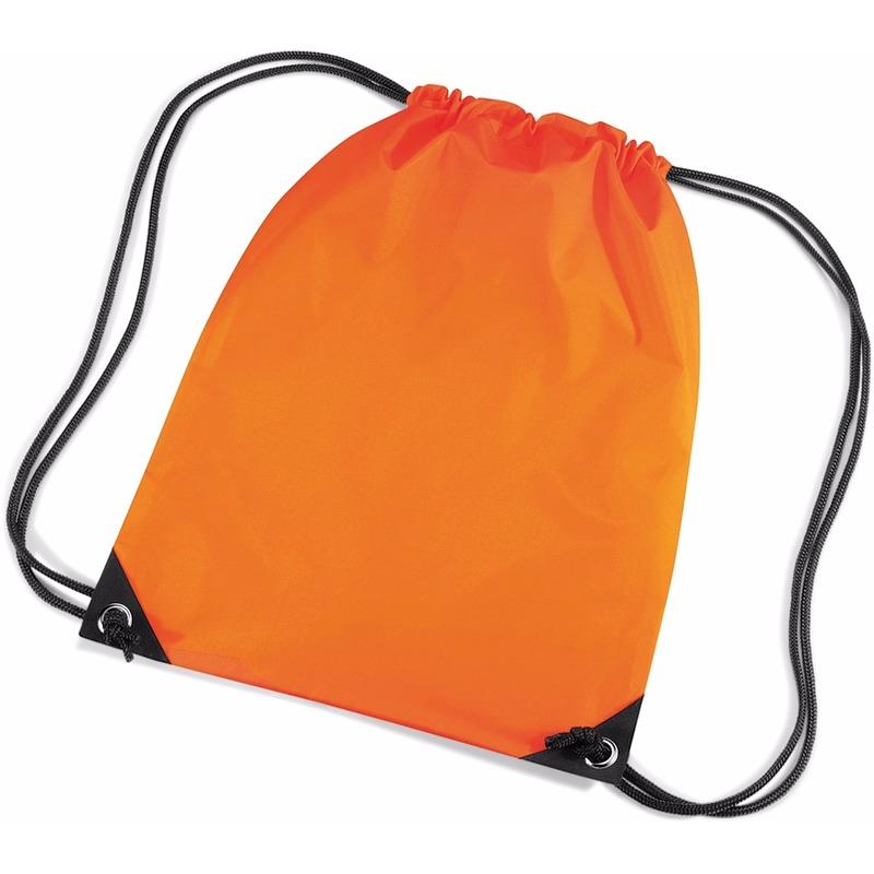 Oranje rugzak waterafstotend