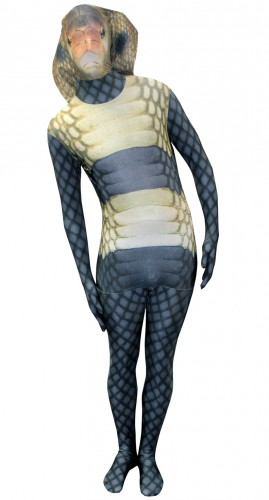 Originele morphsuit cobra slang