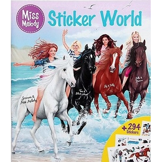 Paarden stickerboek Miss Melody