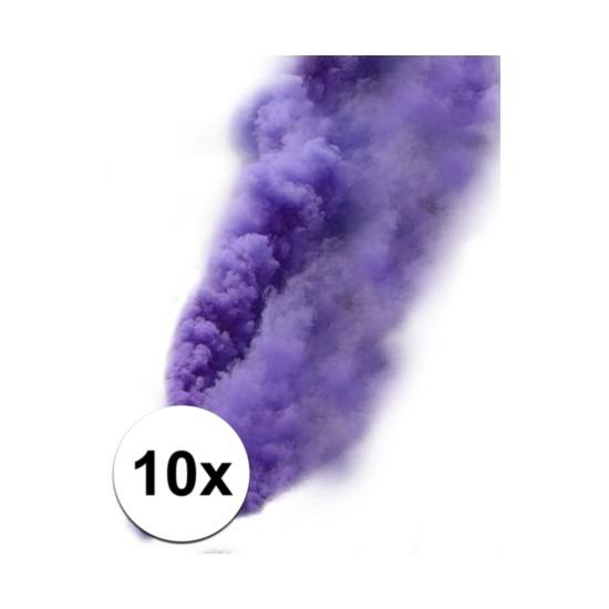 Paarse rook pluim tabletten 10 stuks 1 minuut
