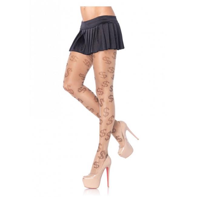 Panty met dollar print