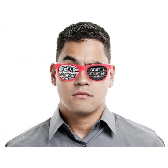 Party bril I am sexy