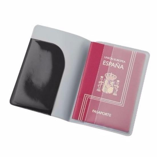 Paspoort houder zwart 13 cm