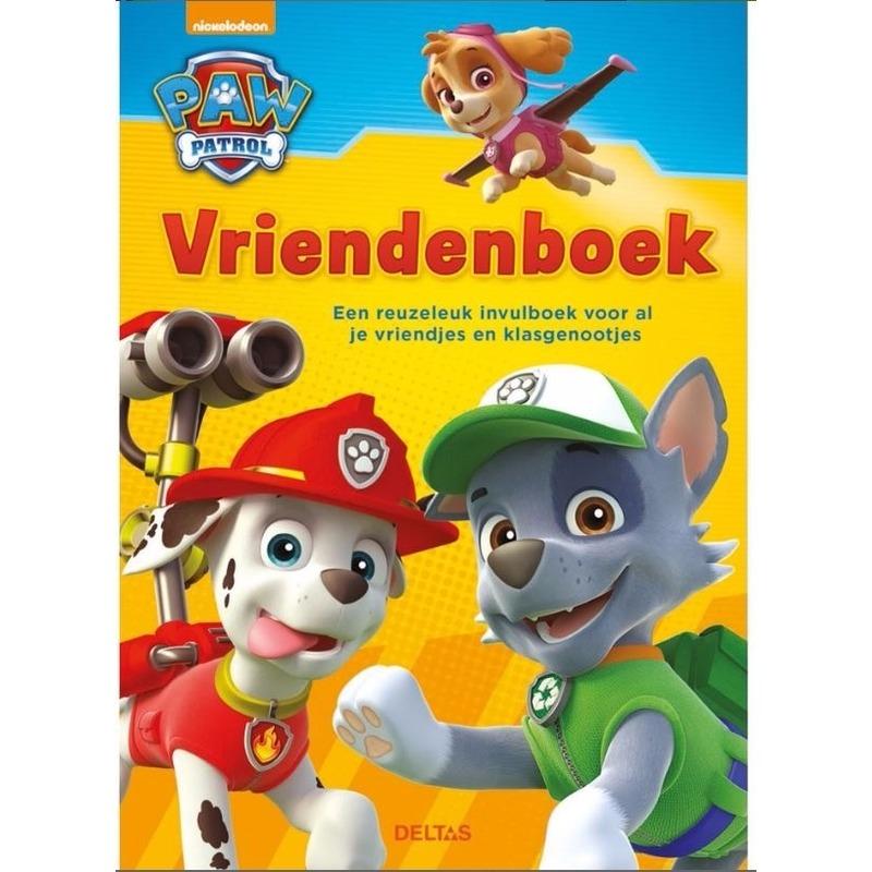 Paw Patrol vriendenboekje