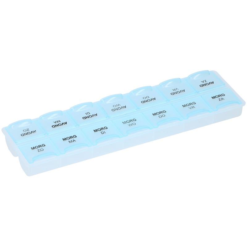 Pillen/medicijnen box week ochtend/avond Nederlands