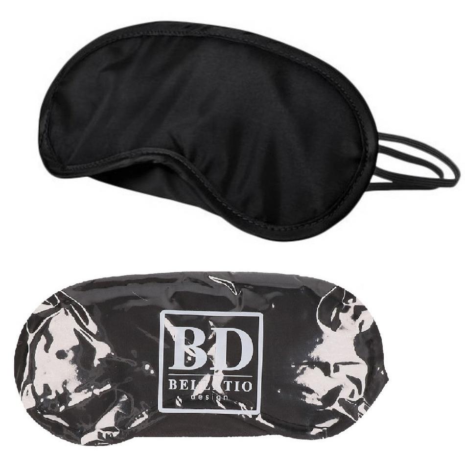 Pinata oogmasker/blinddoek zwart