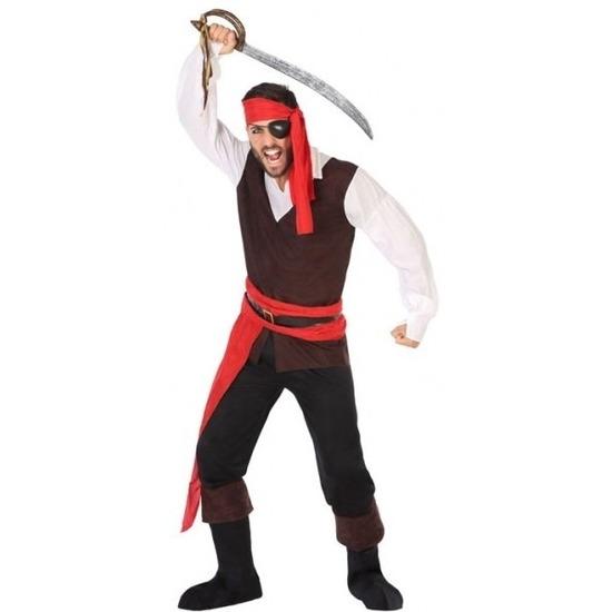 Piraat John verkleed pak/kostuum voor heren