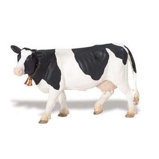 Plastic Holstein-Friesian koe 12 cm