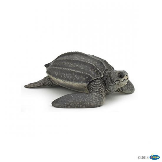 Plastic speelgoed figuur lederschildpad 9,5 cm