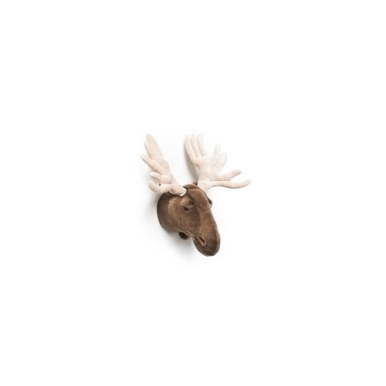 Pluche eland dierenhoofd knuffel 57 cm muurdecoratie