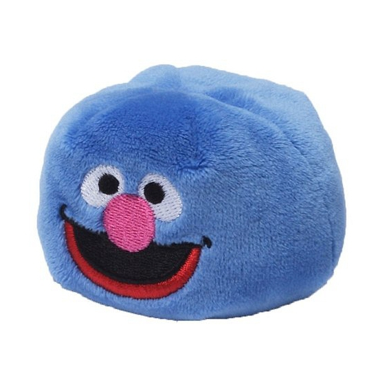 Pluche Grover Sesamstraat Bal 6 Cm