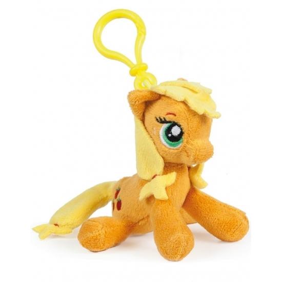 Pluche My Little Pony Applejack sleutelhanger 12 cm