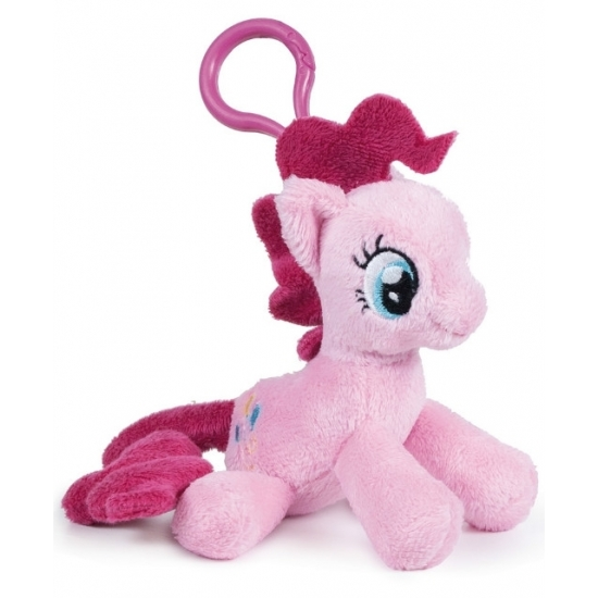 Pluche My Little Pony Pinkie Pie sleutelhanger 12 cm