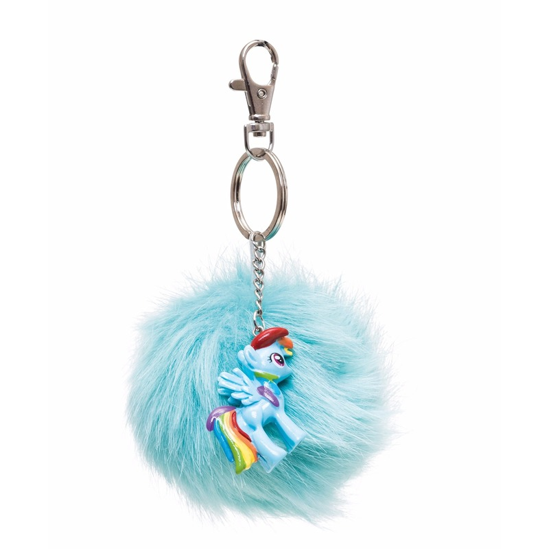 Pluche My Little Pony sleutelhanger Rainbow Dash 7 cm