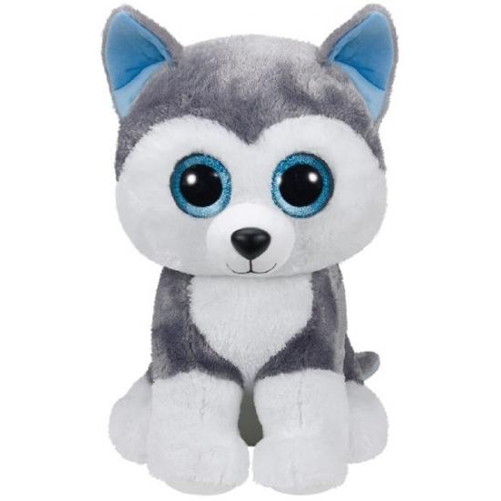 Pluche Ty Beanie husky knuffel 42 cm