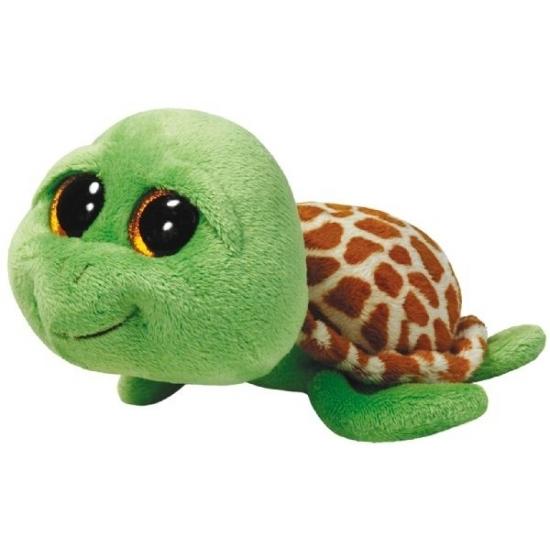 Pluche Ty Beanie schildpad Zippy 42 cm