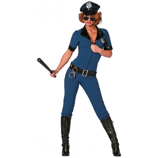 Politie jumpsuit voor dames