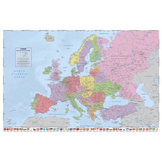 Poster van Europa 61 x 91,5 cm