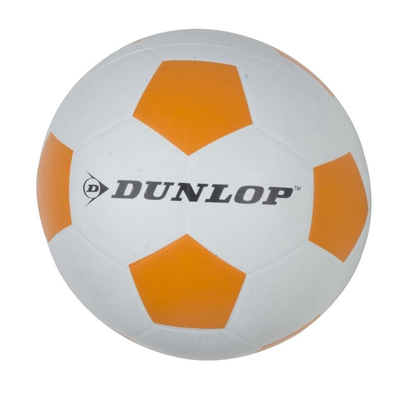 Professionele kinder voetbal maat 5 wit/oranje
