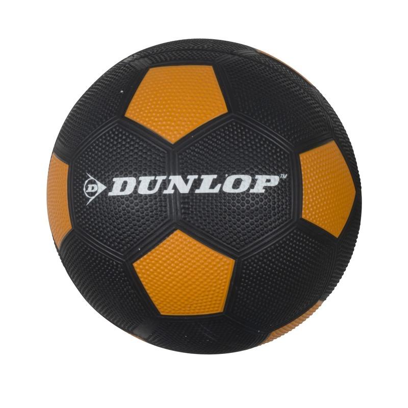 Professionele kinder voetbal maat 5 zwart/oranje