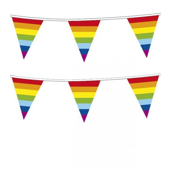 Regenboog Vlaggenlijn