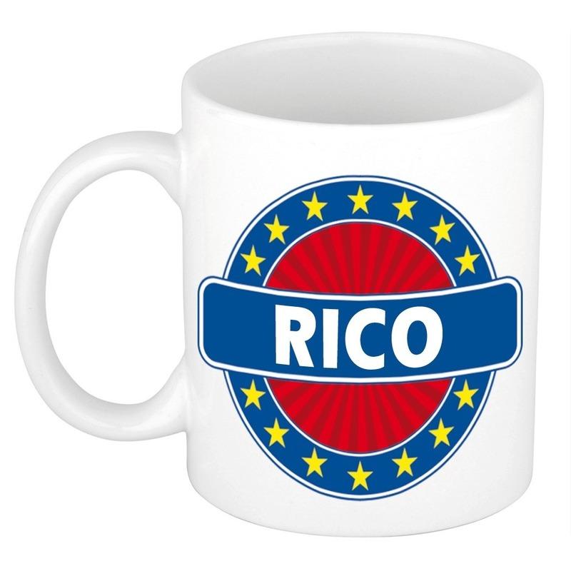 Rico naam koffie mok - beker 300 ml