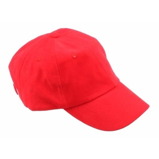 Rode baseballcaps