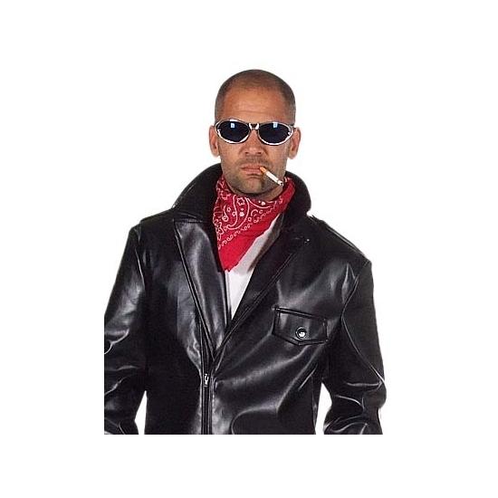 Rode biker bandana zakdoek