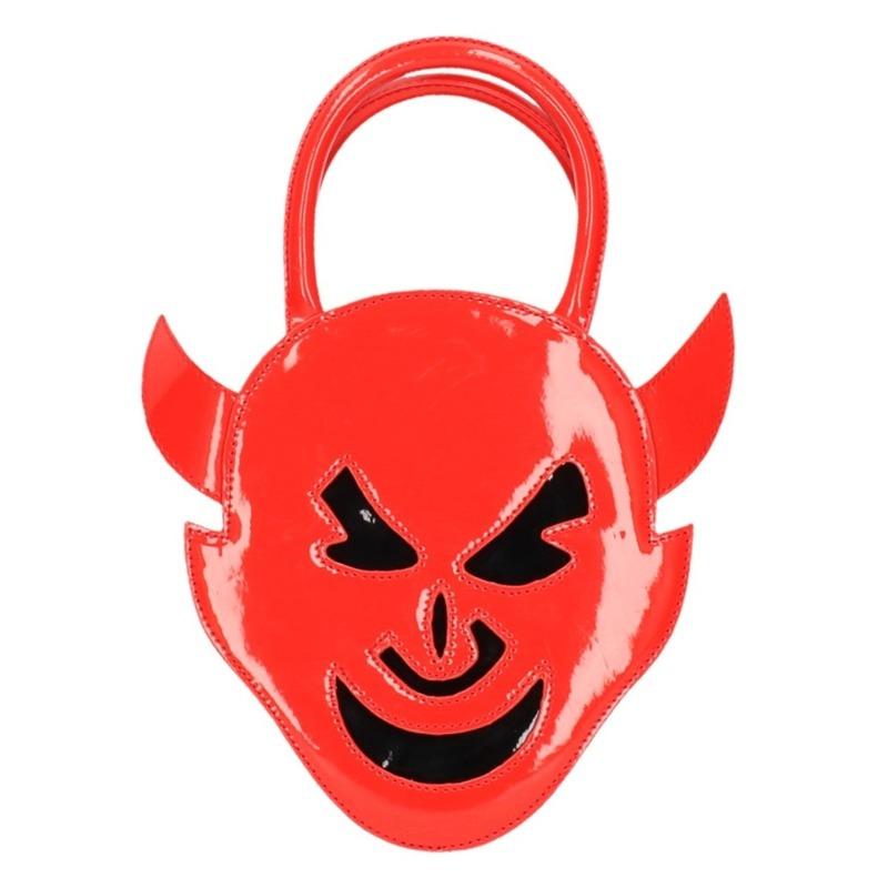 Rode duivels handtasje