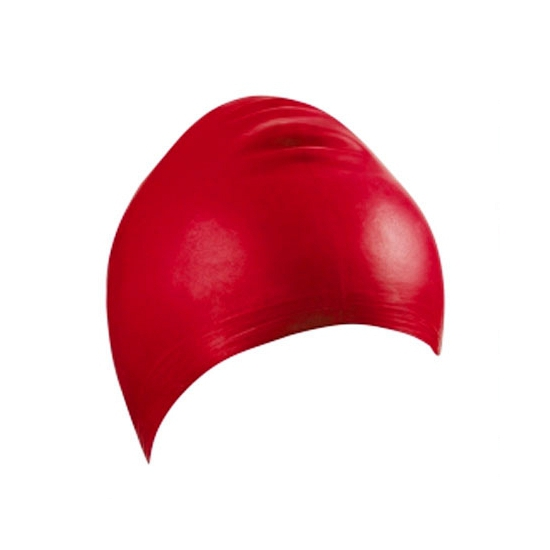 Rode latex badmuts voor volwassenen
