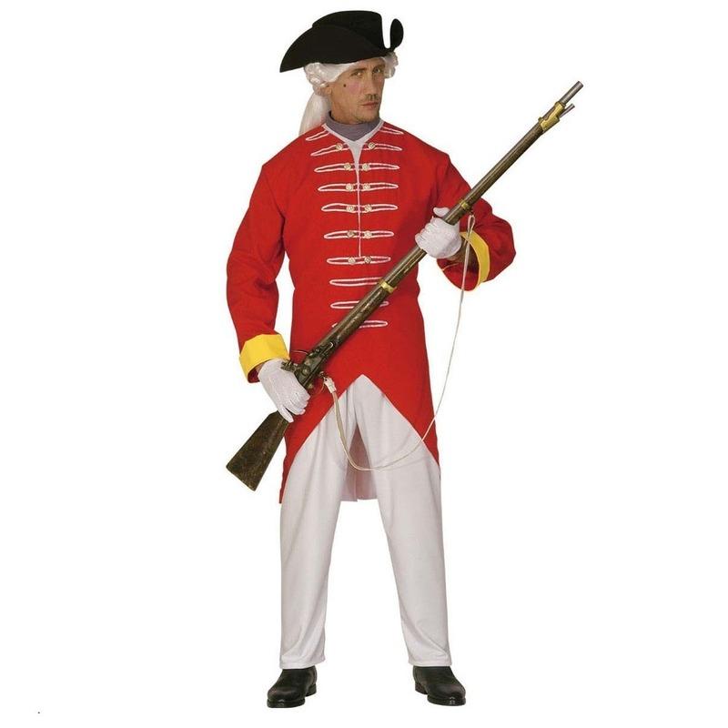 Rode soldaat kostuum