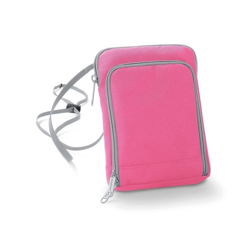 Roze documententasje 19 x 14 cm