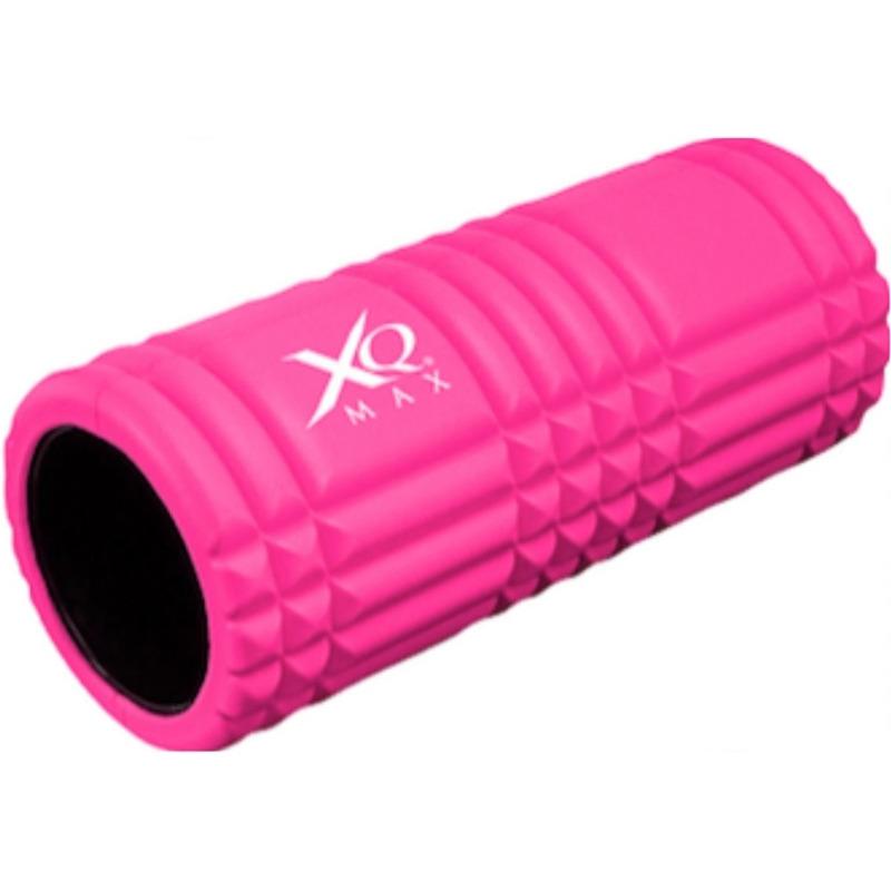 Roze foam roller 33 cm fitnessartikelen