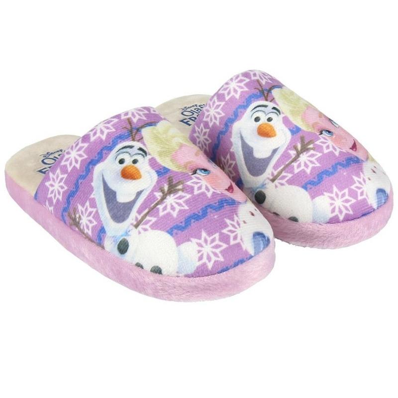 Roze Frozen pantoffels voor meisjes