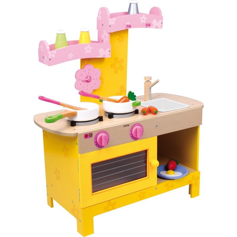 Roze keuken 57 x 25 x 64 cm