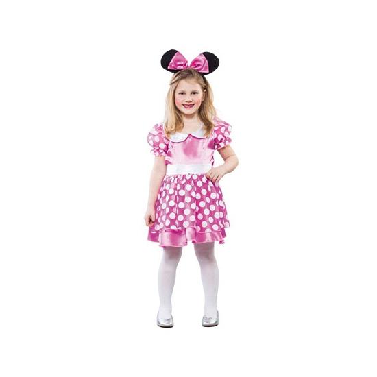 Roze muisje kostuum voor meisjes