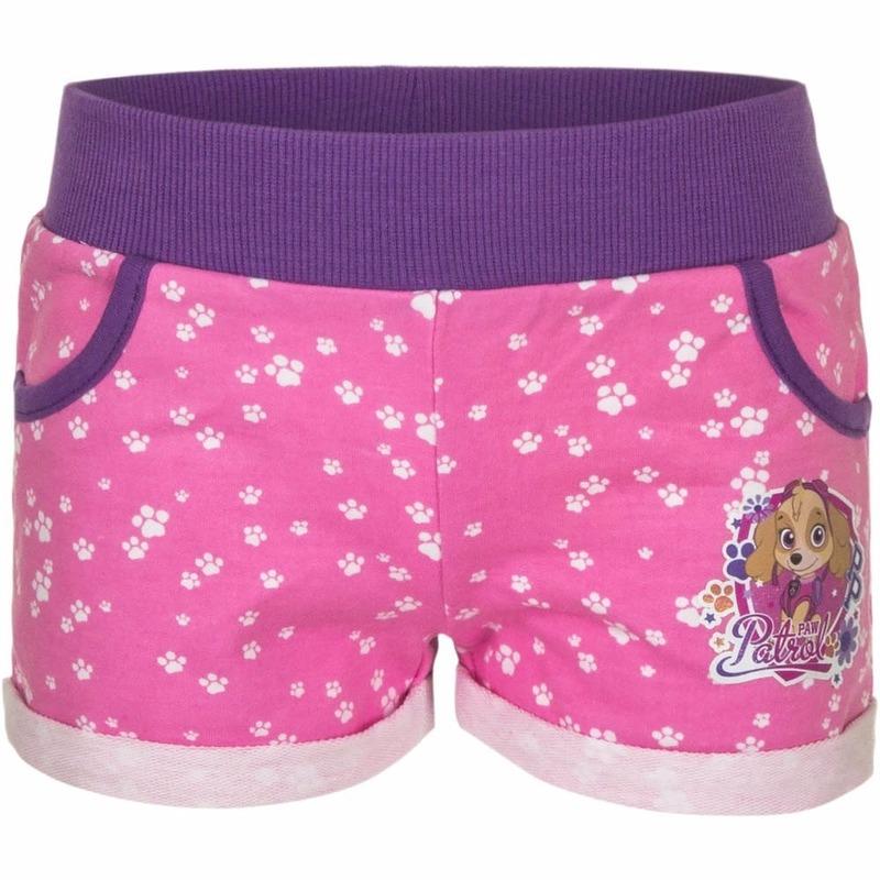 Roze Paw Patrol shorts