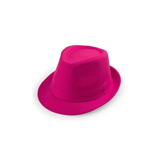Roze trilby verkleed hoedje voor volwassenen